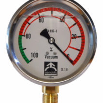 Vacuum gauge of Aerolift for vacuum lifters