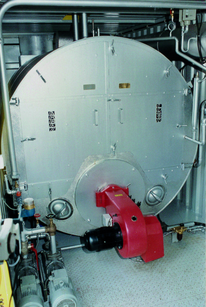 Lagedruk stoomgenerator Aerolift