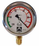 Aerolift vacuum gauge for vacuum lifters