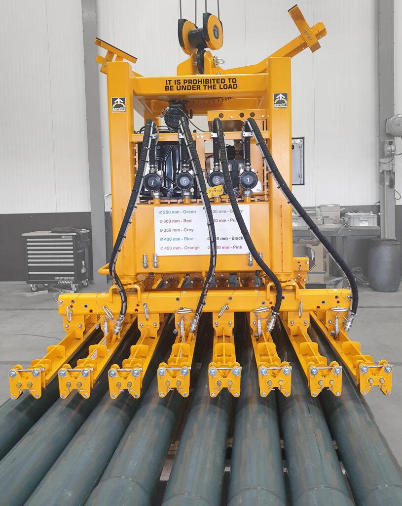 Vacuum pipe lifter